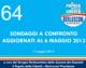 64 – SONDAGGI A CONFRONTO AGGIORNATI AL 6 MAGGIO 2013