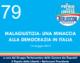79 – MALAGIUSTIZIA: UNA MINACCIA ALLA DEMOCRAZIA IN ITALIA