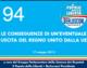 94 – LE CONSEGUENZE DI UN'EVENTUALE USCITA DEL REGNO UNITO DALLA UE