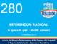 280 – REFERENDUM RADICALI. 6 QUESITI PER I DIRITTI UMANI