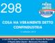 298 – COSA HA VERAMENTE DETTO CONFINDUSTRIA