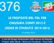 376 – LE PROPOSTE DEL PDL PER CHIUSURA CONTI 2013 E LEGGE DI STABILITA' 2014-2016