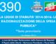 390 – LA LEGGE DI STABILITA' 2014-2016: LA  RAZIONALIZZAZIONE DELLA SPESA  PUBBLICA