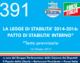 391 – LA LEGGE DI STABILITA' 2014-2016:  PATTO DI STABILITA' INTERNO