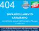 404 – SOVRAFFOLLAMENTO CARCERARIO
