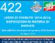 422 – LdS 4 – LEGGE DI STABILITA' 2014-2016 DISPOSIZIONI IN MATERIA DI ENTRATE