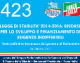 423 – LdS 5 – LEGGE DI STABILITA' 2014-2016 RISORSE PER LO SVILUPPO