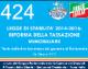 424 – Lds 6 – LEGGE DI STABILITA' 2014-2016 RIFORMA DELLA TASSAZIONE IMMOBILIARE