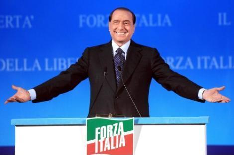berlusconi forza italia 25 ottobre