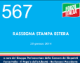 567 – RASSEGNA STAMPA ESTERA – 28 gennaio 2014