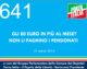641 – GLI 80 EURO IN PIÙ AL MESE?  NON LI PAGHINO I PENSIONATI
