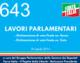 643 – LAVORI PARLAMENTARI   – Dichiarazione di voto finale on. Russo  – Dichiarazione di voto finale on. Sisto