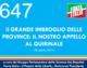 647 – Il GRANDE IMBROGLIO DELLE  PROVINCE: IL NOSTRO APPELLO  AL QUIRINALE