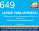 649 – LAVORI PARLAMENTARI (Dichiarazione di voto on. Capezzone, on. Palese)