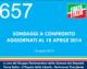 657 – SONDAGGI A CONFRONTO AGGIORNATI AL 18 APRILE 2014