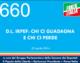 660 – D.L. IRPEF: CHI CI GUADAGNA  E CHI CI PERDE
