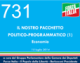 731 – IL NOSTRO PACCHETTO  POLITICO-PROGRAMMATICO (1) – Economia