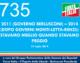 735 – 2011 (GOVERNO BERLUSCONI) – 2014  (DOPO GOVERNI MONTI-LETTA-RENZI):  STAVAMO MEGLIO QUANDO STAVAMO  PEGGIO