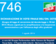 746 – DICHIARAZIONE DI VOTO FINALE DELL'ON. SISTO