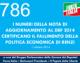 786 – I NUMERI DELLA NOTA DI AGGIORNAMENTO AL DEF 2014 CERTIFICANO IL FALLIMENTO DELLA POLITICA ECONOMICA DI RENZI