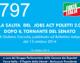797 – LA SALITA  DEL  JOBS ACT POLETTI 2.0  DOPO IL TORNANTE DEL SENATO