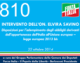 810 – INTERVENTO DELL'ON. ELVIRA SAVINO