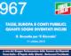 967 – Tasse, Europa e conti pubblici. Quanti sogni diventati incubi (R. Brunetta per 'Il Giornale')
