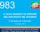 983 – IL SALVA BANCHE È LO SPECCHIO DELL'INCAPACITÀ DEL GOVERNO