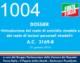 1004 – DOSSIER «Introduzione del reato di omicidio stradale e del reato di lesioni personali stradali» A.C. 3169-B