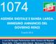1074 – AGENDA DIGITALE E BANDA LARGA. ENNESIMO ANNUNCIO DEL GOVERNO RENZI