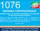1076 – RIFORMA COSTITUZIONALE (INTERVENTI DEGLI ON. BALDELLI E CENTEMERO E DICHIARAZIONE DI VOTO FINALE DELL'ON. BRUNETTA)