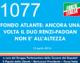 1077 – FONDO ATLANTE: ANCORA UNA VOLTA IL DUO RENZI-PADOAN NON E' ALL'ALTEZZA