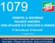1079 – CREDITO, IL GOVERNO FALLISCE ANCORA. CON ATLANTE SI È TOCCATO IL FONDO (R. Brunetta per 'Il Giornale')