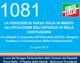 1081 – LA POSIZIONE DI FORZA ITALIA IN MERITO ALL'ATTUAZIONE DELL'ARTICOLO 49 DELLA COSTITUZIONE