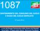 1087 – CONTENIMENTO DEL CONSUMO DEL SUOLO E RIUSO DEL SUOLO EDIFICATO