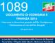 1089 – DEF. Intervento Prestigiacomo e dichiarazione Giorgetti