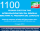 1100 – PREMIER QUESTION TIME INTERROGAZIONE DELL'ON. DEBORAH BERGAMINI AL PRESIDENTE DEL CONSIGLIO