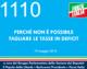 1110 – PERCHE' NON E' POSSIBILE TAGLIARE LE TASSE IN DEFICIT