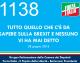 1138 – TUTTO QUELLO CHE C'E' DA SAPERE SULLA BREXIT E NESSUNO VI HA MAI DETTO