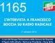 1165 – L'INTERVISTA A FRANCESCO BOCCIA SU RADIO RADICALE