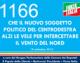 1166 – CHE IL NUOVO SOGGETTO POLITICO DEL CENTRODESTRA ALZI LE VELE PER INTERCETTARE IL VENTO DEL NORD