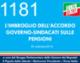 1181 – L'IMBROGLIO DELL'ACCORDO SULLE PENSIONI