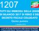 1207 – Tutti gli imbrogli della legge di bilancio 2017 di Renzi e del decreto fiscale collegato (quinta puntata)