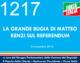 1217 – LA GRANDE BUGIA DI MATTEO RENZI SUL REFERENDUM