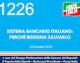 1226 – SISTEMA BANCARIO ITALIANO PERCHE' BISOGNA SALVARLO