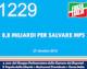 1229 – 8.8 MILIARDI PER SALVARE MPS