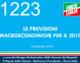 1223 – LE PREVISIONI MACROECONOMICHE PER IL 2017