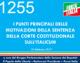 1255 – I punti principali delle motivazioni della sentenza della Corte sull'Italicum