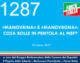 1287 – MANOVRINA E MANOVRONA COSA BOLLE IN PENTOLA AL MEF