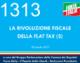 1313 – LA RIVOLUZIONE FISCALE DELLA FLAT TAX. 2